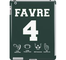 Brett Favre - Career Stats iPad Case/Skin