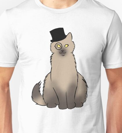 Tophat Cat Unisex T-Shirt
