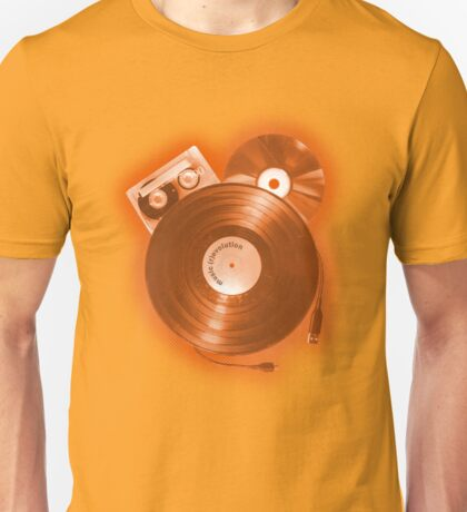 Music (R)Evolution [orange] Unisex T-Shirt