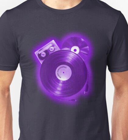 Music (R)Evolution [purple] Unisex T-Shirt