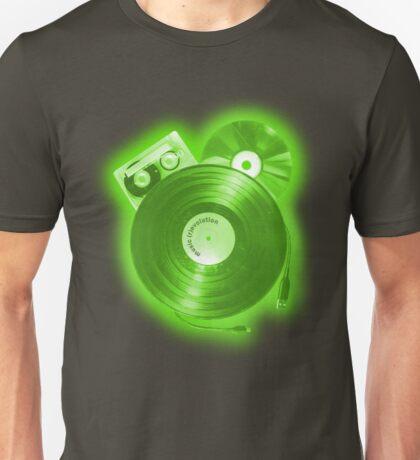 Music (R)Evolution [green] Unisex T-Shirt