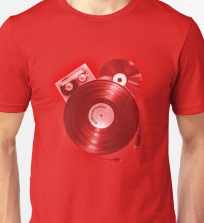 Music (R)Evolution [red] Unisex T-Shirt
