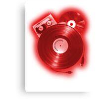Music (R)Evolution [red] Canvas Print