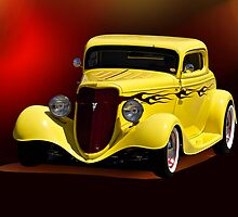 1934 Ford Coupe I by DaveKoontz