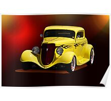 1934 Ford Coupe I Poster