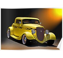 1934 Ford Coupe II Poster