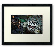 Quest: Challenge the Alpha Framed Print