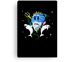 Planet Neptune, God of the Sea Canvas Print