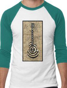 Zakk Wylde's BullsEye Men's Baseball ¾ T-Shirt
