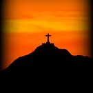 Mount Cristo Rey  by Kimberly P-Chadwick