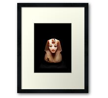 Pharaoh Bust Framed Print