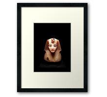 Pharaoh Bust Framed Print