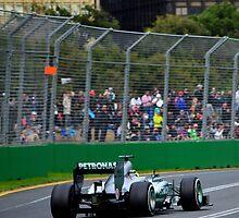 Lewis Hamilton - Mercedes by Tom Blanche