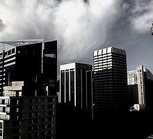 Sydney Skyline  by zebraboy