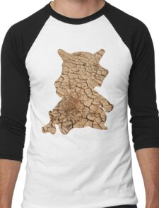 Cubone used Bone Rush Men's Baseball ¾ T-Shirt