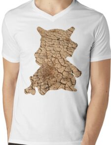 Cubone used Bone Rush Mens V-Neck T-Shirt