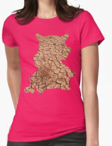 Cubone used Bone Rush Womens Fitted T-Shirt