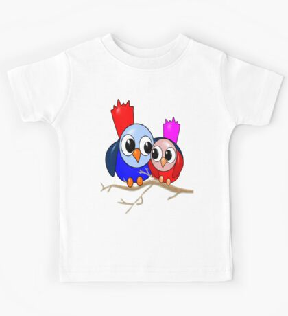 Love Birds T-shirt Kids Tee
