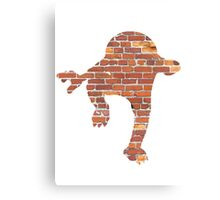 Hitmonlee used Hi Jump Kick Canvas Print