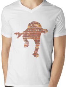 Hitmonlee used Hi Jump Kick Mens V-Neck T-Shirt