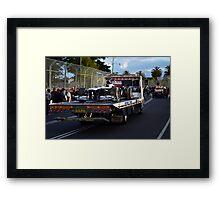 Towed - Williams Framed Print