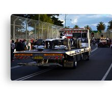 Towed - Williams Canvas Print