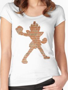 Hitmonchan used Mach Punch Women's Fitted Scoop T-Shirt