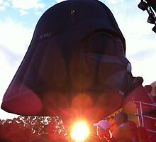 The sun shines from Darth Vader's ...? by linswad