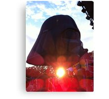 The sun shines from Darth Vader's ...? Canvas Print