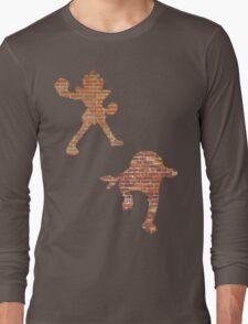 Hitmonlee and Hitmonchan Long Sleeve T-Shirt