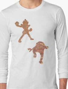 Hitmonlee and Hitmonchan Long Sleeve T-Shirt