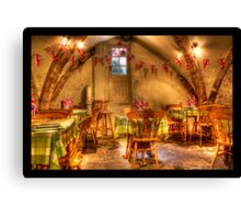 the cellar under the ice cream shop  Canvas Print