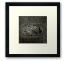 In my darkest place Framed Print