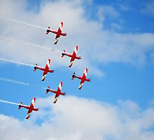 RAAF Roulettes by Tom Blanche