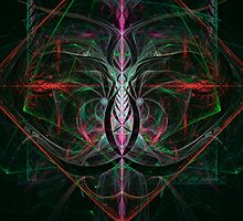 Abstract Celtic Knot by Pam Amos