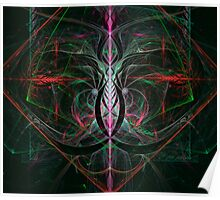 Abstract Celtic Knot Poster