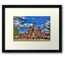 Grantham town Framed Print