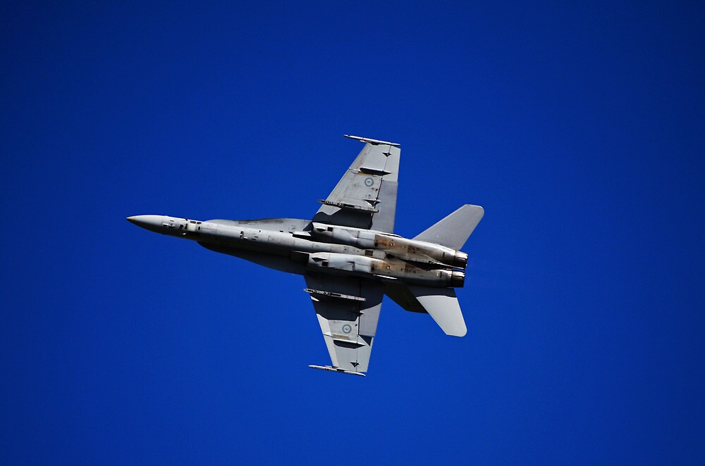 RAAF F/A 18 Super Hornet by Tom Blanche