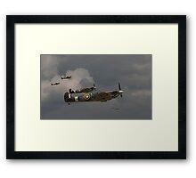 317 'Polish' Squadron Spitfires Framed Print