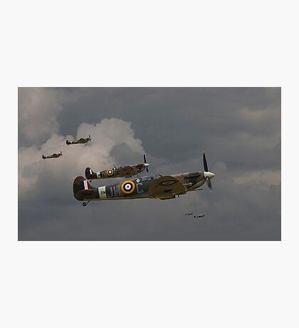 317 'Polish' Squadron Spitfires Photographic Print