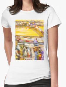 Dawn rush Womens Fitted T-Shirt