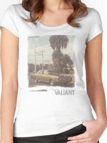 Chrysler Valiant vintage tee Women's Fitted Scoop T-Shirt