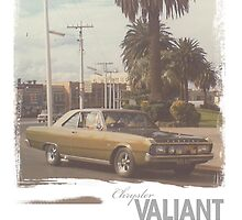 Chrysler Valiant vintage tee by emtee