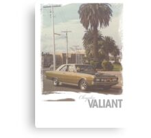 Chrysler Valiant vintage tee Canvas Print
