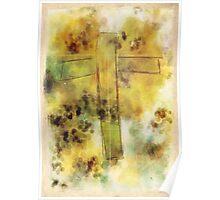 Watercolor Cross Poster