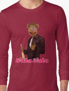 Fonzie Bear Waka Waka Long Sleeve T-Shirt