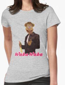 Fonzie Bear Waka Waka Womens Fitted T-Shirt