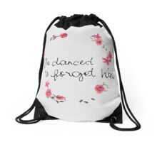 Taylor Swift Lyric Drawstring Bag