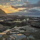 Sunrise on the Rocks by bazcelt