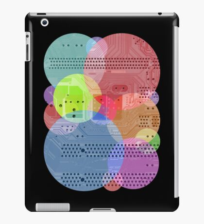 Techy Circles iPad Case/Skin